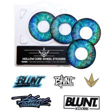 Oil Slick/Blue Eye Decal Envy Blunt Hollow Core 120mm Wheel Scooter Parts