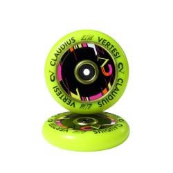 Claudius Vertesi Signature 110mm Wheels Yellow (Pair)