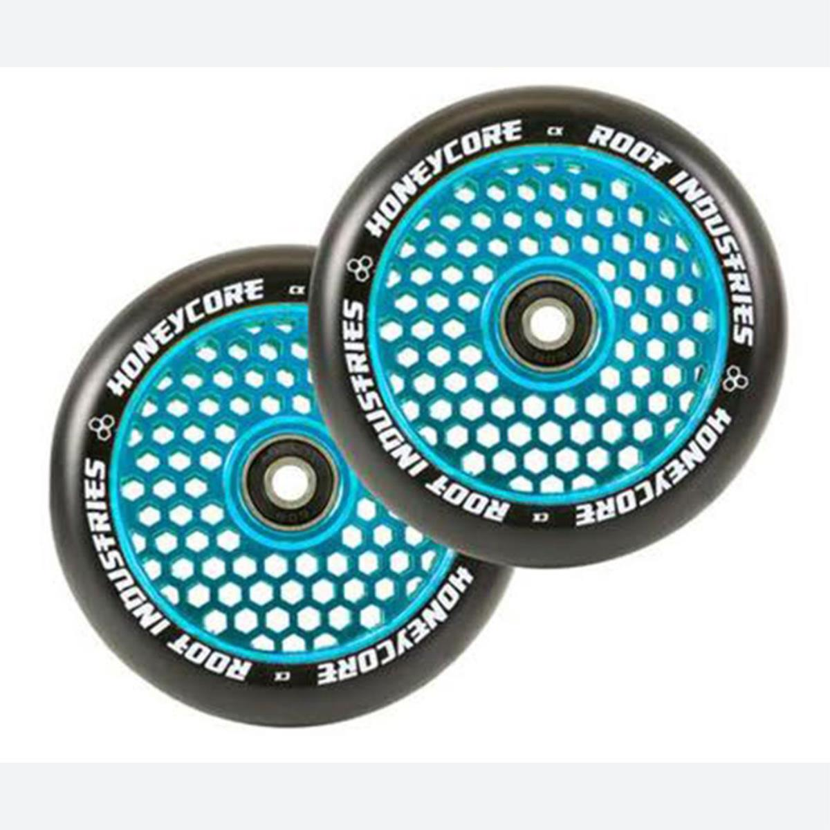 Root Industries Honeycore Radiant 110mm Pro Scooter Wheels 110mm - Blue
